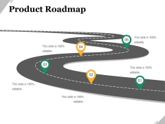 Product Roadmap Ppt PowerPoint Presentation Styles Slide Download
