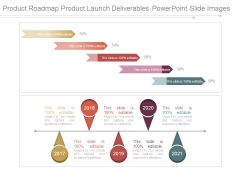 Product Roadmap Product Launch Deliverables Powerpoint Slide Images