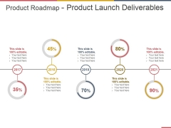 Product Roadmap Product Launch Deliverables Template 2 Ppt PowerPoint Presentation Inspiration Portrait