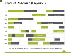 Product Roadmap Template 3 Ppt PowerPoint Presentation Ideas Icon