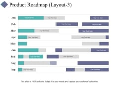 Product Roadmap Template 3 Ppt PowerPoint Presentation Pictures Layout