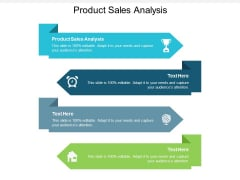 Product Sales Analysis Ppt PowerPoint Presentation Icon Professional Cpb