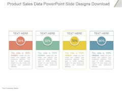 Product Sales Data Ppt PowerPoint Presentation Information