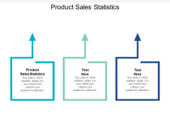 Product Sales Statistics Ppt PowerPoint Presentation Icon Background Cpb