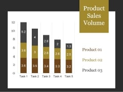 Product Sales Volume Ppt PowerPoint Presentation Slide