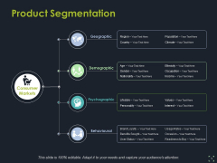 Product Segmentation Template 1 Ppt PowerPoint Presentation Gallery Inspiration