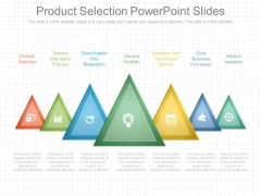 Product Selection Powerpoint Slides