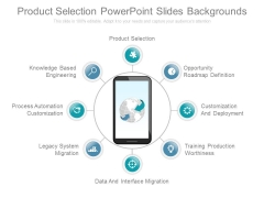 Product Selection Powerpoint Slides Backgrounds