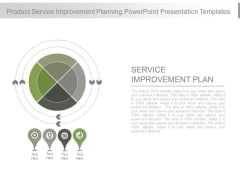 Product Service Improvement Planning Powerpoint Presentation Templates