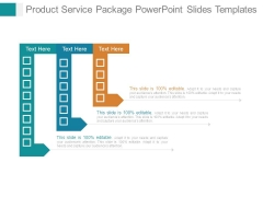 Product Service Package Powerpoint Slides Templates