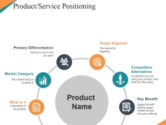 Product Service Positioning Ppt PowerPoint Presentation Styles Layout Ideas