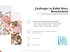 Product Share In Customer Wallet Challenges In Wallet Share Measurement Mockup PDF