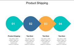 Product Shipping Ppt PowerPoint Presentation Icon Professional Cpb