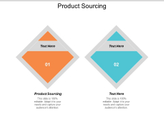 Product Sourcing Ppt PowerPoint Presentation Ideas Graphics Pictures Cpb