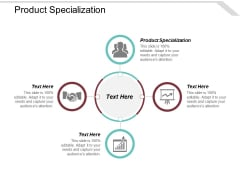 Product Specialization Ppt PowerPoint Presentation Inspiration Introduction Cpb