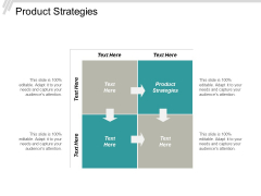 Product Strategies Ppt PowerPoint Presentation Slides Maker Cpb