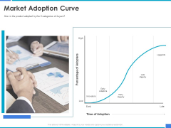 Product Strategy And Product Management Implementation Market Adoption Curve Ppt Layouts Gridlines PDF