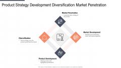 Product Strategy Development Diversification Market Penetration Professional PDF