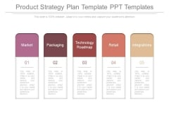 Product Strategy Plan Template Ppt Templates