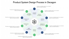 Product System Design Process In Decagon Ppt PowerPoint Presentation File Summary PDF