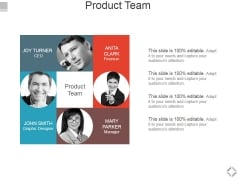 Product Team Ppt PowerPoint Presentation Outline Example File