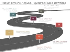 Product Timeline Analysis Powerpoint Slide Download