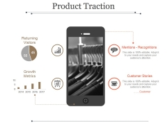 Product Traction Ppt PowerPoint Presentation Picture