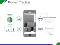 Product Traction Ppt PowerPoint Presentation Slide Download