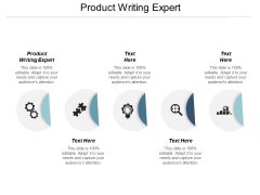 Product Writing Expert Ppt PowerPoint Presentation Slides Objects