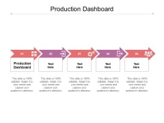Production Dashboard Ppt PowerPoint Presentation Layouts Templates Cpb