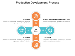 Production Development Process Ppt Powerpoint Presentation Gallery Graphic Tips Cpb