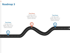 Production House Agreement Roadmap Three Stage Process Ppt Template PDF