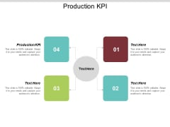 Production KPI Ppt PowerPoint Presentation Professional Introduction Cpb