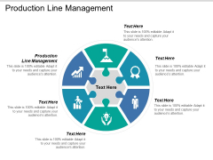 Production Line Management Ppt PowerPoint Presentation Summary Slide Download Cpb