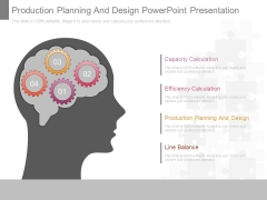 Production Planning And Design Powerpoint Presentation