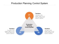 Production Planning Control System Ppt PowerPoint Presentation Portfolio Deck Cpb