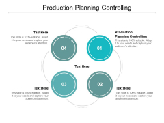 Production Planning Controlling Ppt PowerPoint Presentation Outline Elements Cpb