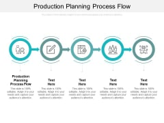 Production Planning Process Flow Ppt PowerPoint Presentation Summary Example Topics Cpb
