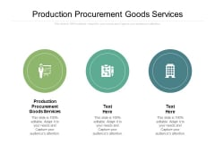 Production Procurement Goods Services Ppt PowerPoint Presentation Inspiration Graphic Images Cpb