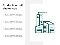 Production Unit Vector Icon Ppt PowerPoint Presentation Model Files