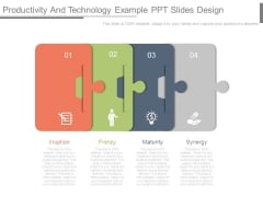 Productivity And Technology Example Ppt Slides Design