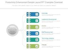Productivity Enhancement Sample Layout Ppt Examples Download