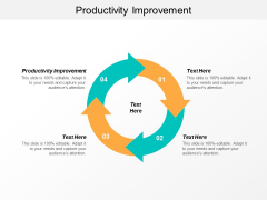 Productivity Improvement Ppt PowerPoint Presentation Professional Example Cpb
