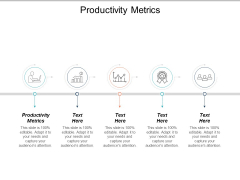 Productivity Metrics Ppt PowerPoint Presentation Outline Template Cpb