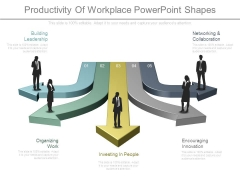 Productivity Of Workplace Powerpoint Shapes
