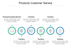 Products Customer Service Ppt PowerPoint Presentation File Designs Cpb