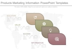 Products Marketing Information Powerpoint Templates