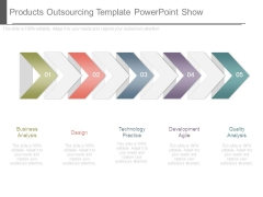 Products Outsourcing Template Powerpoint Show