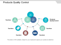 Products Quality Control Ppt Powerpoint Presentation Icon Brochure Cpb