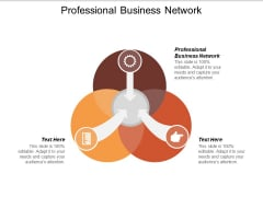 Professional Business Network Ppt PowerPoint Presentation Model Design Templates